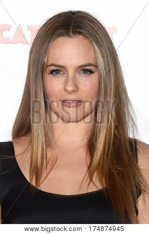 LOS ANGELES - MAR 2:  Alicia Silverstone at the