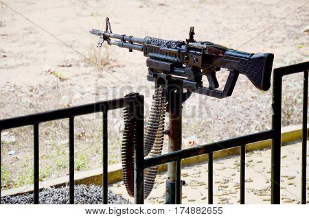 Machine Gun Squad Automatic Weapon