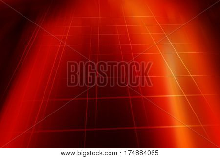 Graphical Red Theme Background Design Multiple Lines Crossed Each other.