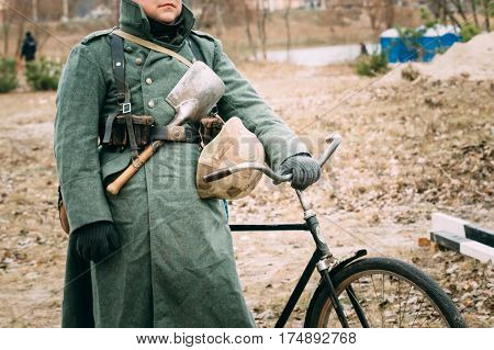 Uniform of the German soldier of the Second World War