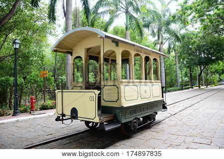 Guayaquil Historical Park Trolley