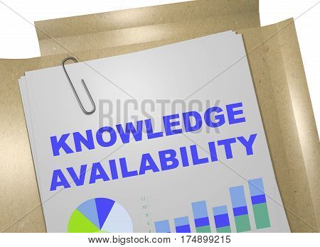 Knowledge Availability Concept