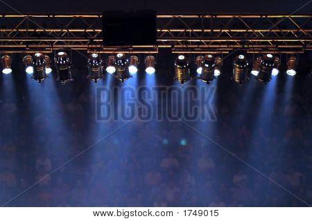 Luzes de palco