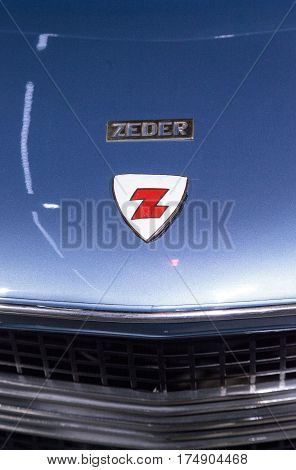 Blue 1953 Dodge Storm Z-250