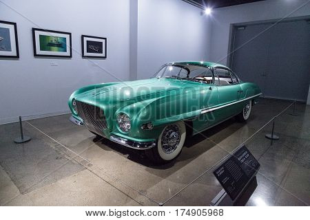 Green 1954 Plymouth Explorer By Ghia