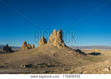 Geologic Desert Rock Formations