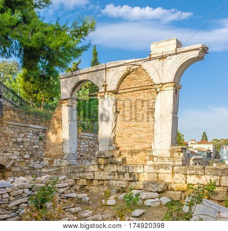 Ruins Of Antique Arches
