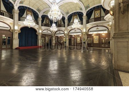Shanghai, China - March 2, 2017: Ball Room Inside The Astor House Hotel, A Famous Landmark Of Shangh