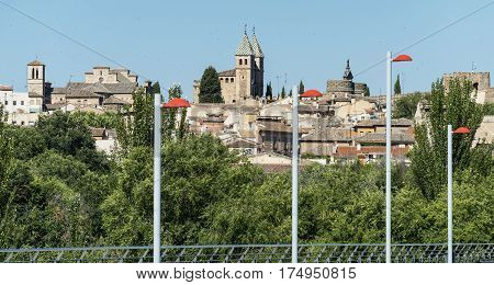 Toledo (Castilla-La Mancha Spain): cityscape the medieval city