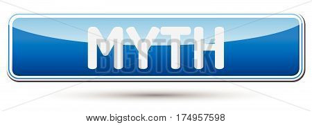 Myth - Abstract Beautiful Button With Text.