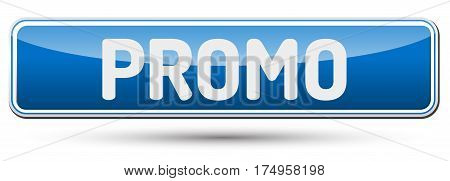 Promo - Abstract Beautiful Button With Text.