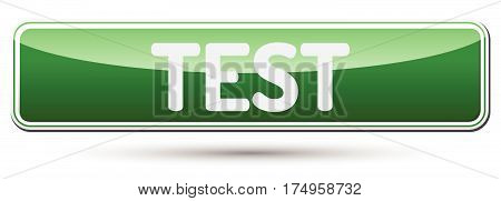 Test - Abstract Beautiful Button With Text.