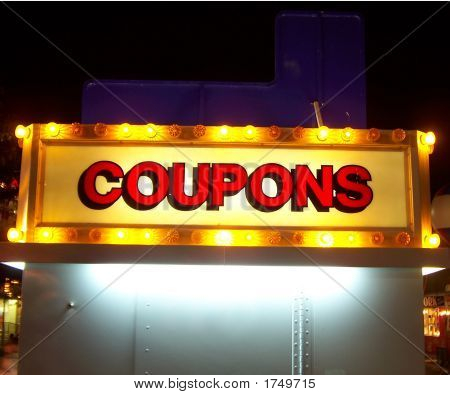 Coupons Stand