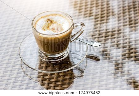 Coffee Cup In Norning