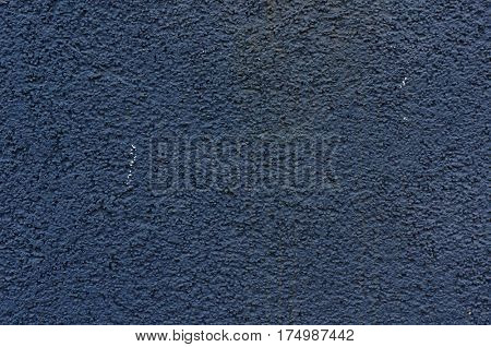 Wall surface texture. Blue textured background.