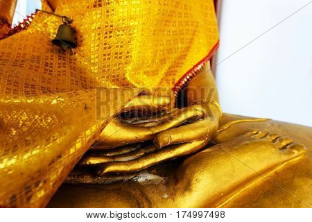 Hands Of Gold Buddha Concentration