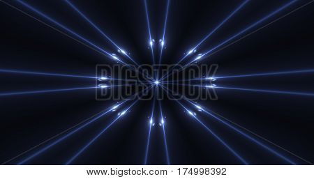 Luxury Modern Abstract  blue Laser Beam Light Background