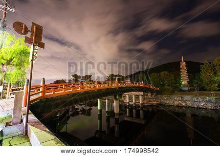 Uji River Night Scene