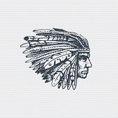 2d37ea638 Aztec Warrior Vector & Photo (Free Trial) | Bigstock