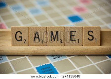Games Scrabble Tiles