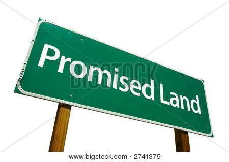 Promised Land - Road-Sign.