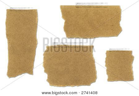 Ripped And Taped Paper Bag Collection