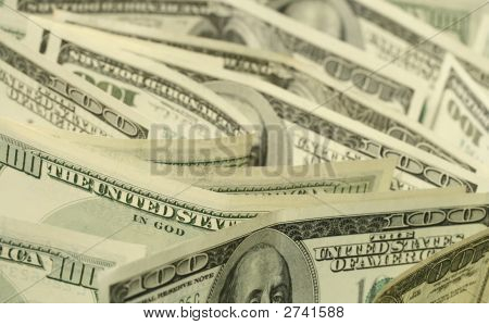 Dollars Close-Up