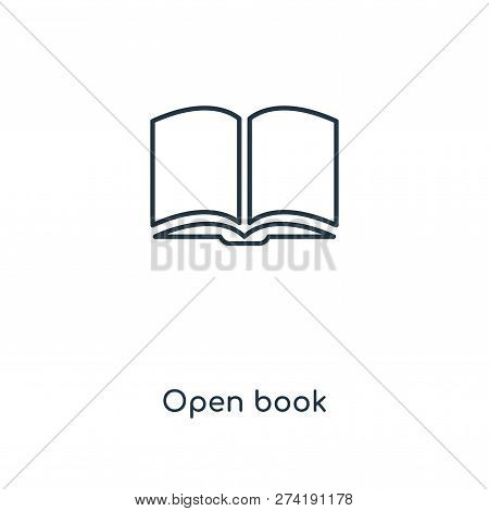 Open Book Icon Trendy Vector & Photo (Free Trial) | Bigstock