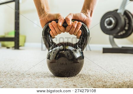 Kettlebell Workout Exercise Weight And Strength Training