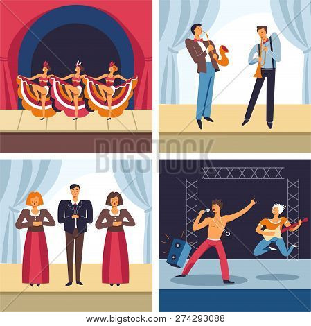 Musical Concerts, Cabaret And Jazz, Opera And Rock, Music Genres