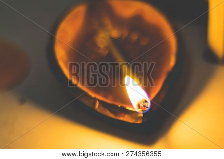 Diwali Oil Clay Lamp Also Called