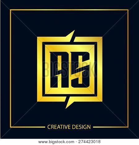 Initial Letter S Logo Template Vector Design