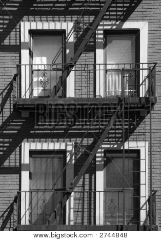 Afternoon Fire Escape