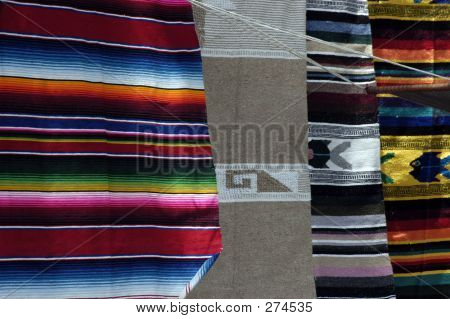 Colorful Woven Blankets