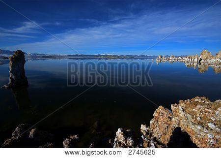 Winter Eastern Sierra Mono Lake