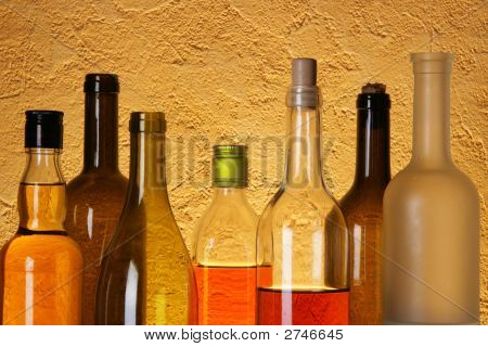 Many Bottles Of Alcohol