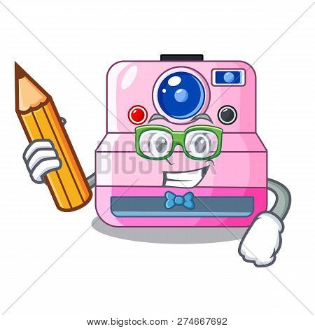 Student Instant Camera With Revoke Cartoon Picture