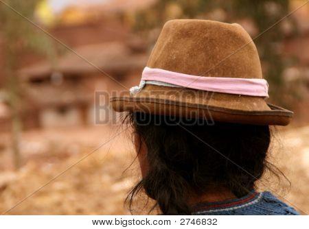 Woman, South America