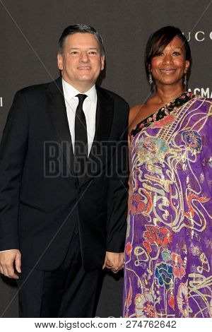 LOS ANGELES - NOV 3:  Ted Sarandos, Nicole Avan at the 2018 LACMA: Art and Film Gala at the Los Angeles County Musem of Art on November 3, 2018 in Los Angeles, CA