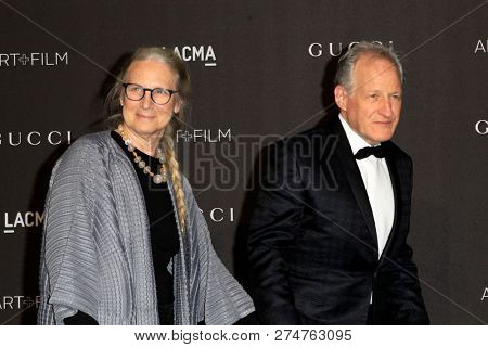 LOS ANGELES - NOV 3:  Summer Mann, Michael Mann at the 2018 LACMA: Art and Film Gala at the Los Angeles County Musem of Art on November 3, 2018 in Los Angeles, CA