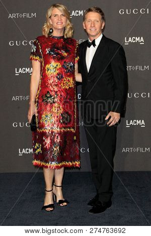 LOS ANGELES - NOV 3:  Colleen Bell, Bradley Bell at the 2018 LACMA: Art and Film Gala at the Los Angeles County Musem of Art on November 3, 2018 in Los Angeles, CA