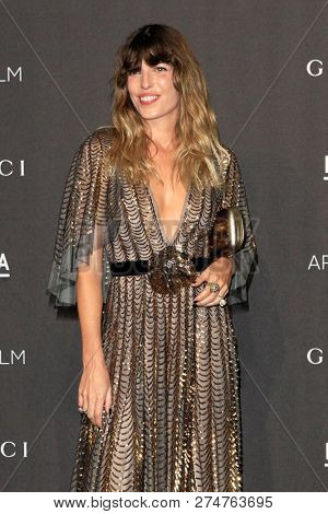 LOS ANGELES - NOV 3:  Lou Doillon at the 2018 LACMA: Art and Film Gala at the Los Angeles County Musem of Art on November 3, 2018 in Los Angeles, CA
