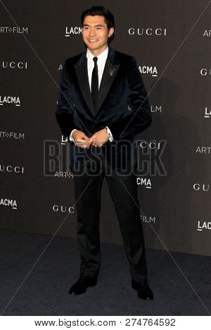 LOS ANGELES - NOV 3:  Henry Golding at the 2018 LACMA: Art and Film Gala at the Los Angeles County Musem of Art on November 3, 2018 in Los Angeles, CA