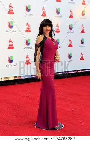 LAS VEGAS - NOV 15:  Vida Guerra at the 19th Annual Latin GRAMMY Awards - Arrivals at the MGM Garden Arena on November 15, 2018 in Las Vegas, NV