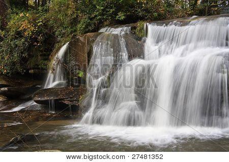 Mill Shoals Falls Close Up