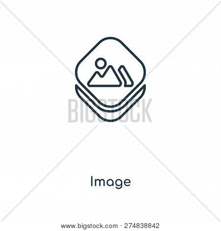 Image Icon In Trendy Design Style. Image Icon Isolated On White Background. Image Vector Icon Simple