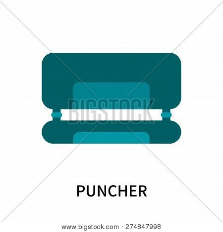 Puncher Icon Isolated On White Background. Puncher Icon Simple Sign. Puncher Icon Trendy And Modern