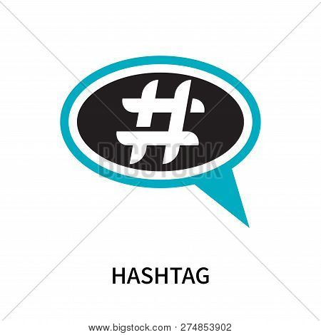 Hashtag Icon Isolated On White Background. Hashtag Icon Simple Sign. Hashtag Icon Trendy And Modern