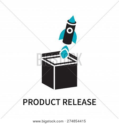 Product Release Icon Isolated On White Background. Product Release Icon Simple Sign. Product Release