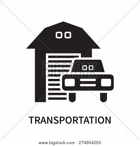 Transportation Icon Isolated On White Background. Transportation Icon Simple Sign. Transportation Ic
